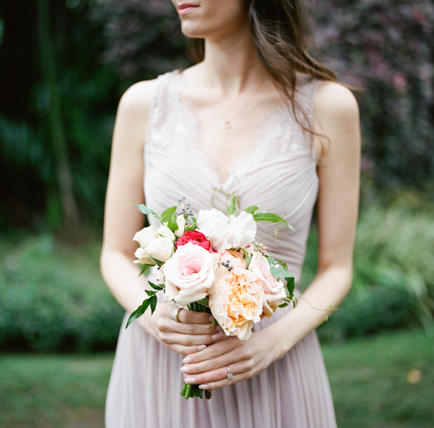 Bridesmaid Bouquet by Julia Rhode Designs - photo by Kat Braman
