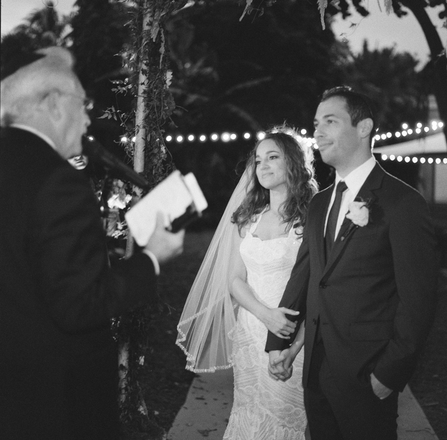 Jewish Wedding Ceremony at Miami Beach Botanical Gardens - photo by Kat Braman