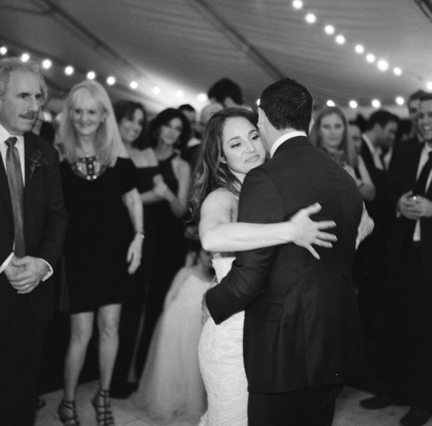 First Dance at Miami Beach Wedding - photo by Kat Braman