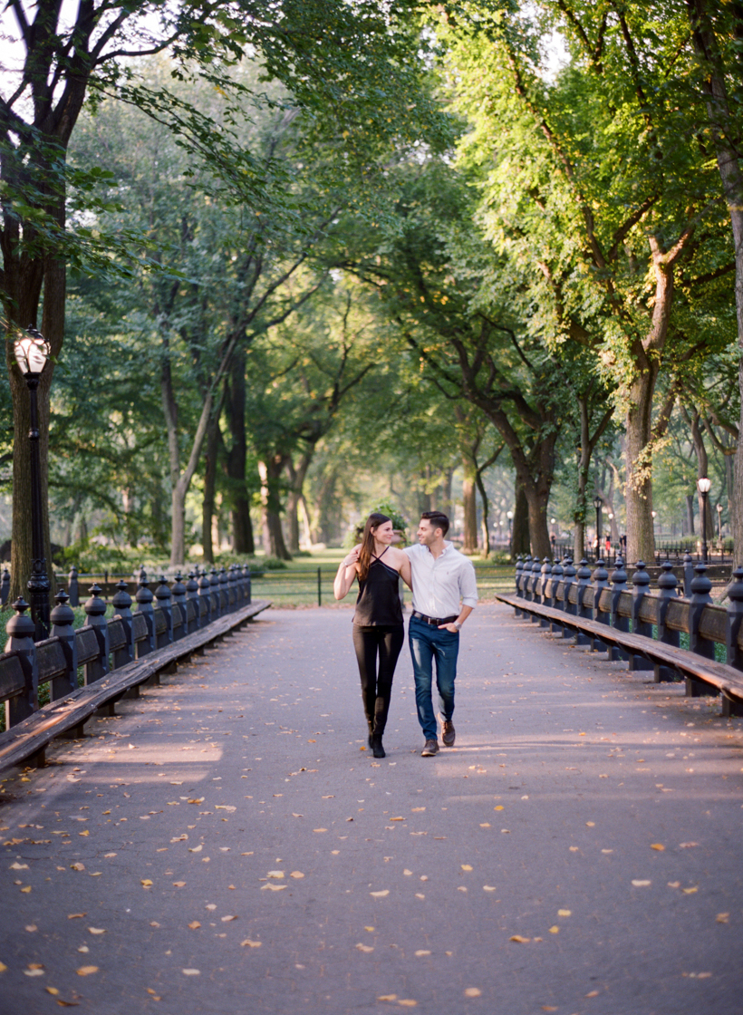 Central Park Engagement Session - Photo by Kat Braman