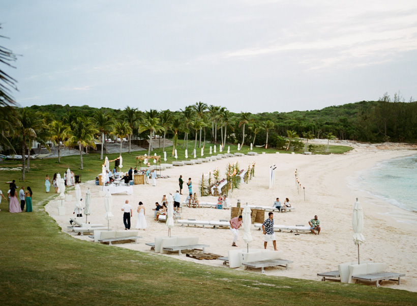Wedding Welcome Dinner at The Cove Eleuthera