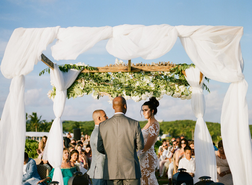 Bahamas Destination Wedding in Eleuthera - photo by Kat Braman