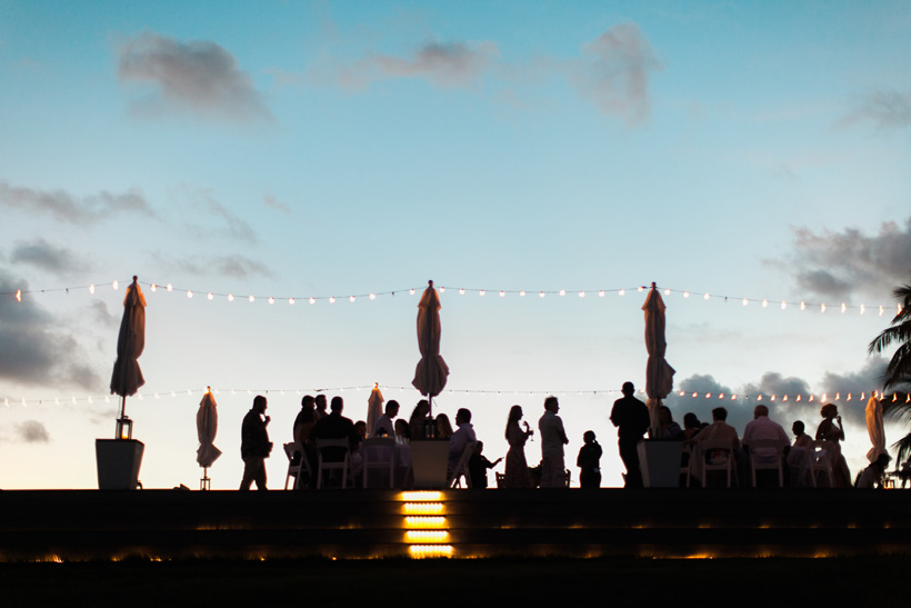 Wedding Reception in the Bahamas - photo by Kat Braman