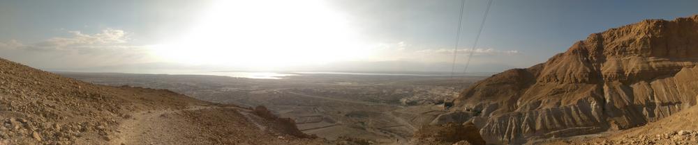 Masada views, baby.
