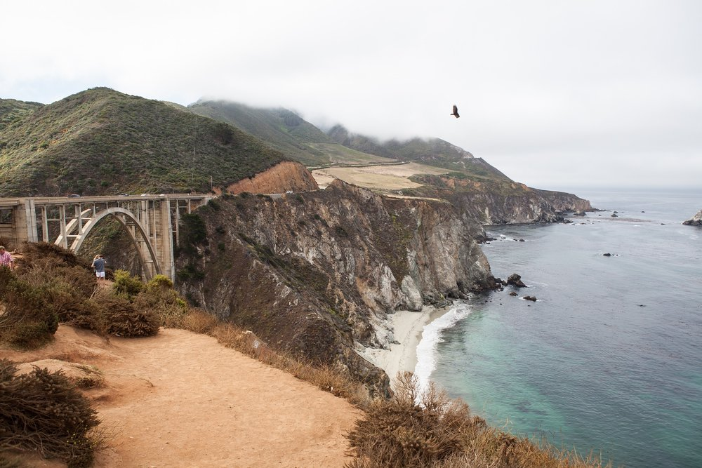 A stretch of the Pacific Coast Highway near Big Sur, California. (Image:  Pixabay )