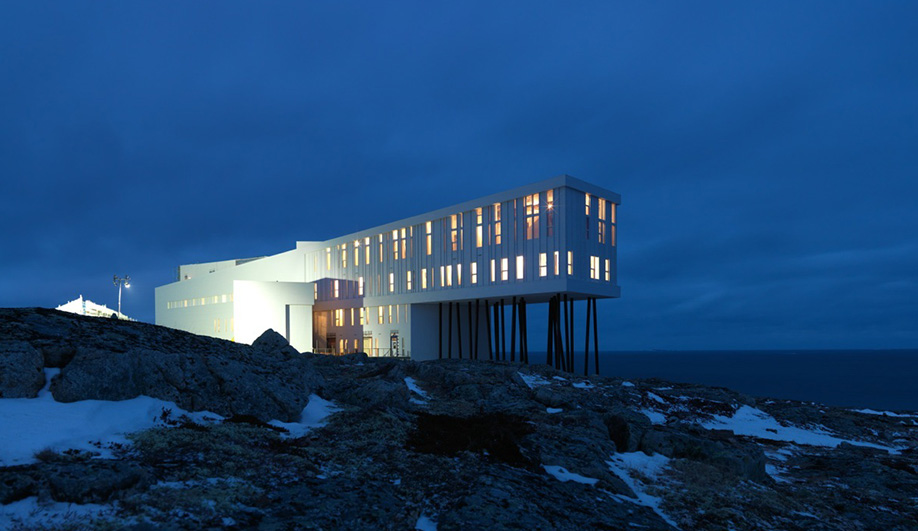 The Fogo Island Inn (Image:  Azure Magazine )