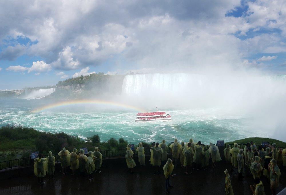 """Somewhere over the rainbow..."""