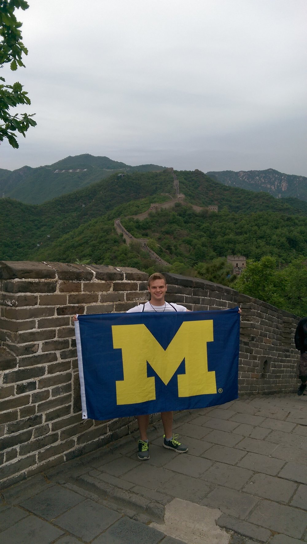 Representin' at the Great Wall