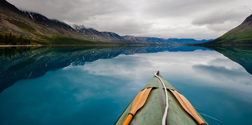 Kayaking is one recreational option available to you in Lake Clark National Park. (Image:  National Park Service )