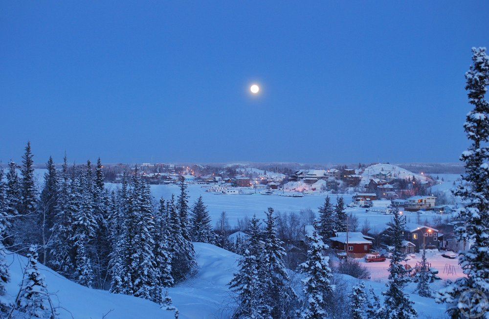 Yellowknife, the capital of the Northwest Territories, was named Canada's coldest city in 2014 (Image:  Pixabay )