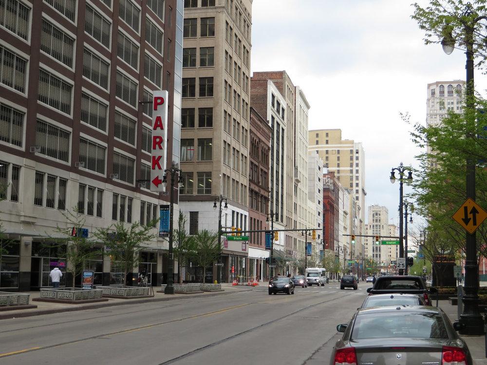 Woodward Avenue, Detroit's main drag (Image:  Flickr )