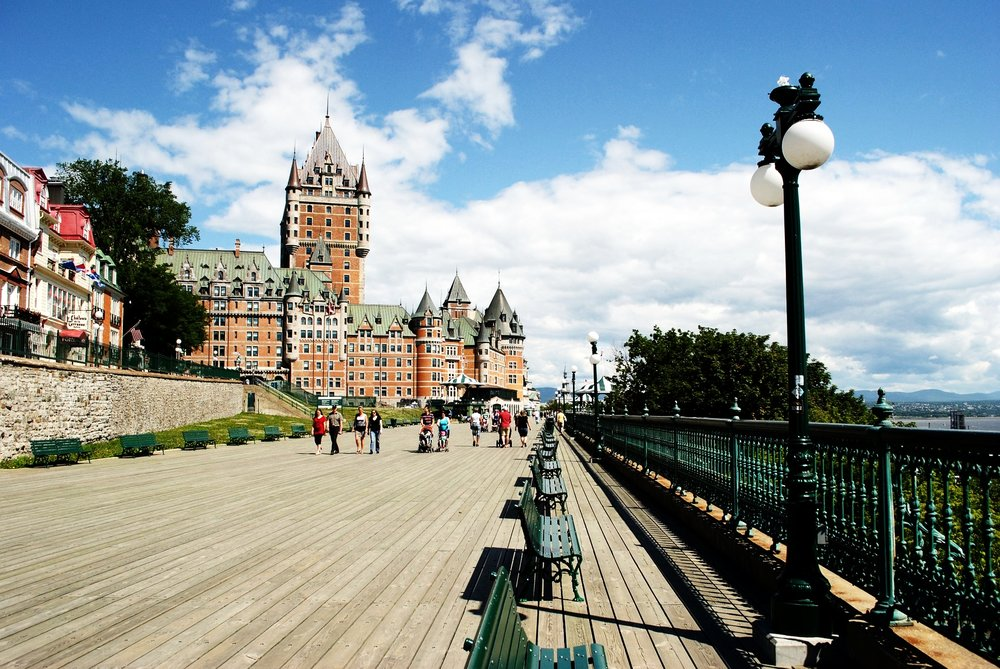 I know I focused on winter, but summertime in Québec City exists as well (Image:  Pixabay )