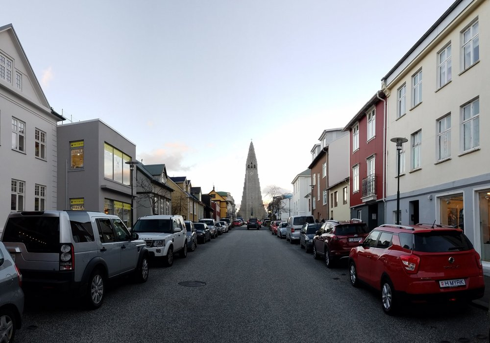 Hallgrimskirkja, one of the most well-known symbols of Reykjavík, is the tallest building in the city