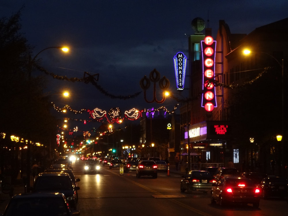 The Pageant's brightly-lit marquee is pretty difficult to miss (Image:  Flickr )