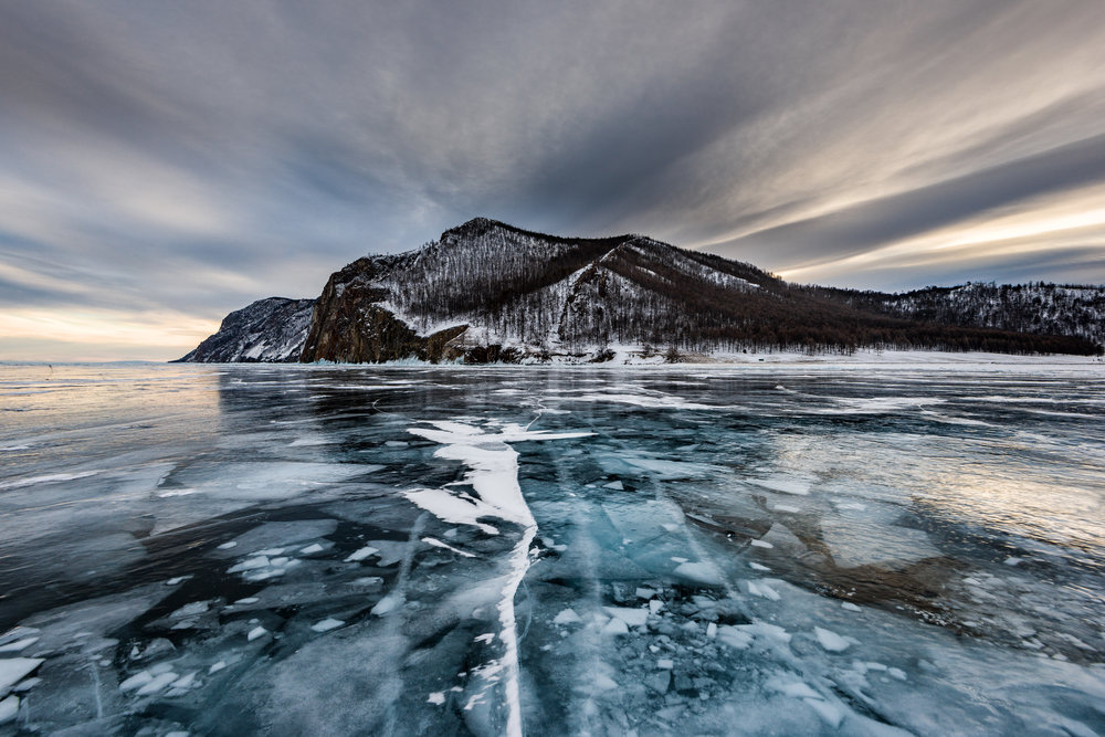 The frosty frontiers of Olkhon Island (Image: Sergey Pesterev,  Unsplash )