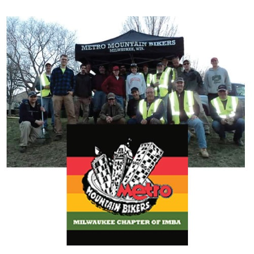 Our mission is to promote and protect environmentally responsible mountain bike opportunities in Milwaukee. Since our founding in 1994, Metro has built and maintained more than 20 miles of trails in the Milwaukee area. Milwaukee Mountain Bikers is the Milwaukee Chapter of IMBA (International Mountain Bicycling Association).  Learn More:  https://www.metromountainbikers.com/