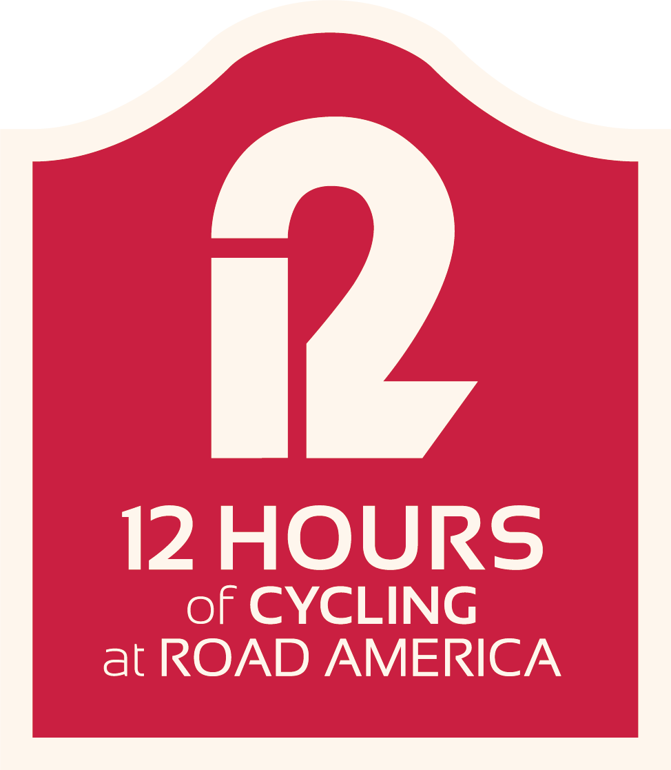 Welcome to the 12 Hours of Road America.  This is a bike racing event taking place on August 10-11, 2019 in  Elkhart Lake  at the iconic  Road America  race track. The 4-mile track gives riders the opportunity to race on the same pavement that's made history in the auto racing industry for years. The racing happens  overnight  on a partially illuminated track adding another exciting factor to the race. This is a one-of-a-kind racing experience that welcomes all levels of riders.   The  paddock area  invites riders and spectators to listen to live music, enjoy the beer garden, visit food trucks, enjoy a midnight pizza party, pancake breakfast, evening movies in victory lane and cruise through our cycling focused expo.  All this fun, while enabling  myTEAM TRIUMPH  to continue their mission of building more inclusive communities and allowing athletes with disabilities to compete in races around the country.