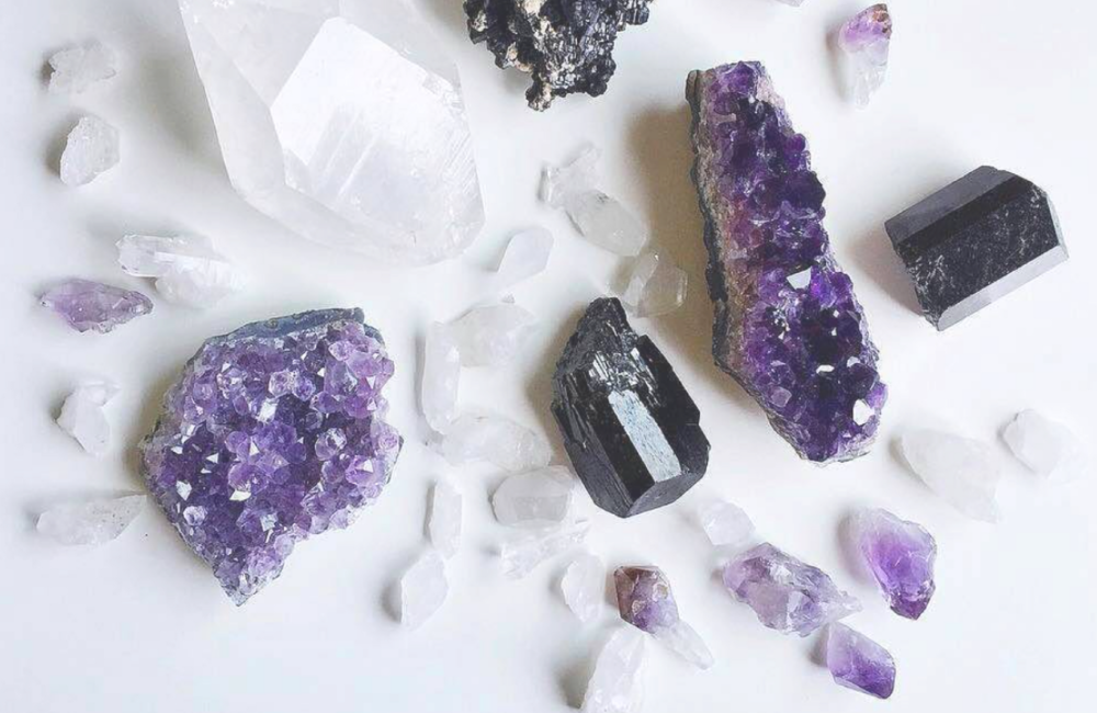 crystal love - learn how to use crystals to center your focus and enhance your intentions.