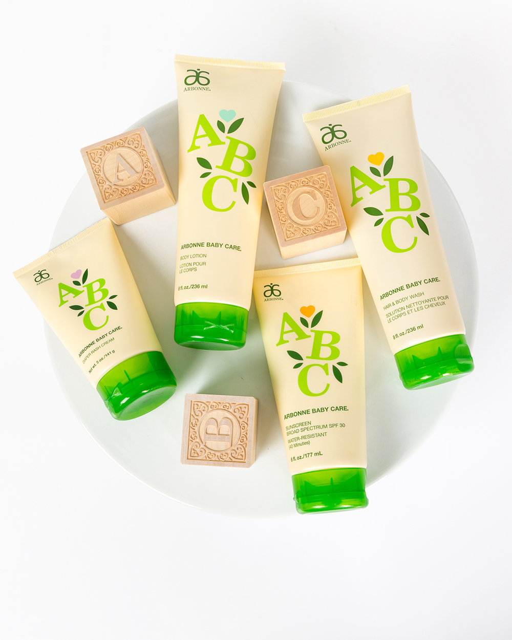 Baby Care Set - Formulated for baby's delicate skin using pure, safe, beneficial ingredients.