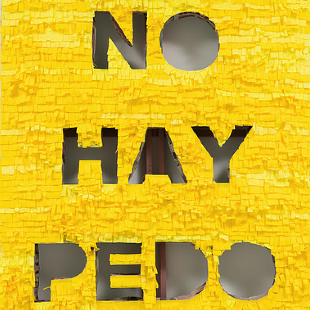 Detail of NO HAY PEDO (Canary) by Giovanni Valderas, 2016