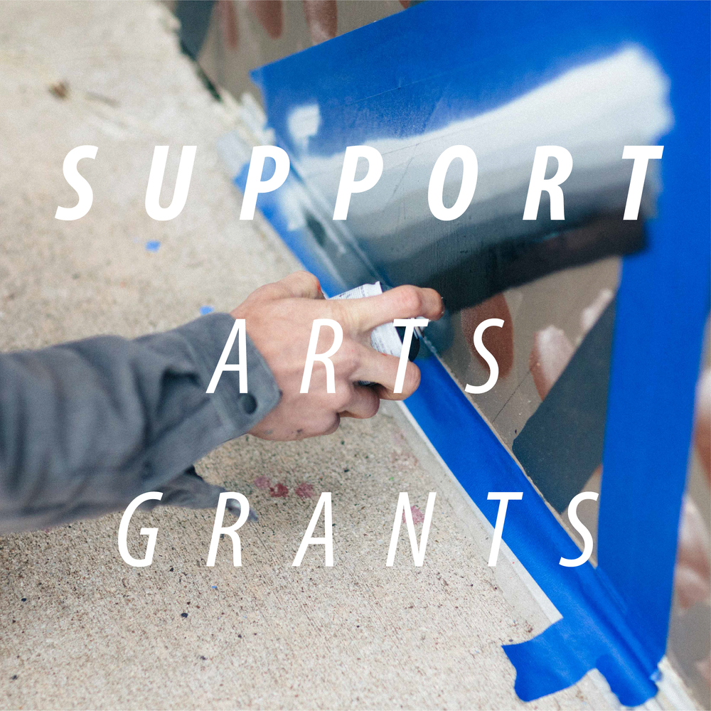 There are many ways to support the Arts Grant program, whether it's through general donations,  Wild Woman for the Arts,  or simply by becoming a member - you can donate your way!