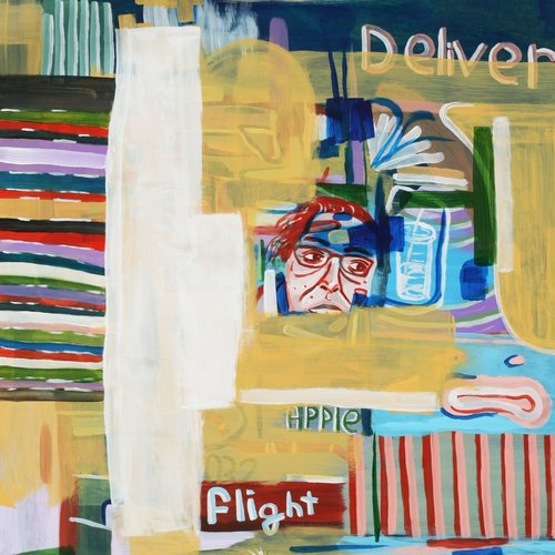 Robert Sparks,  Kitchen , acrylic on masonite; 2017 Voertman's Award Winner in the 11th Annual VAST 125-Mile Exhibition