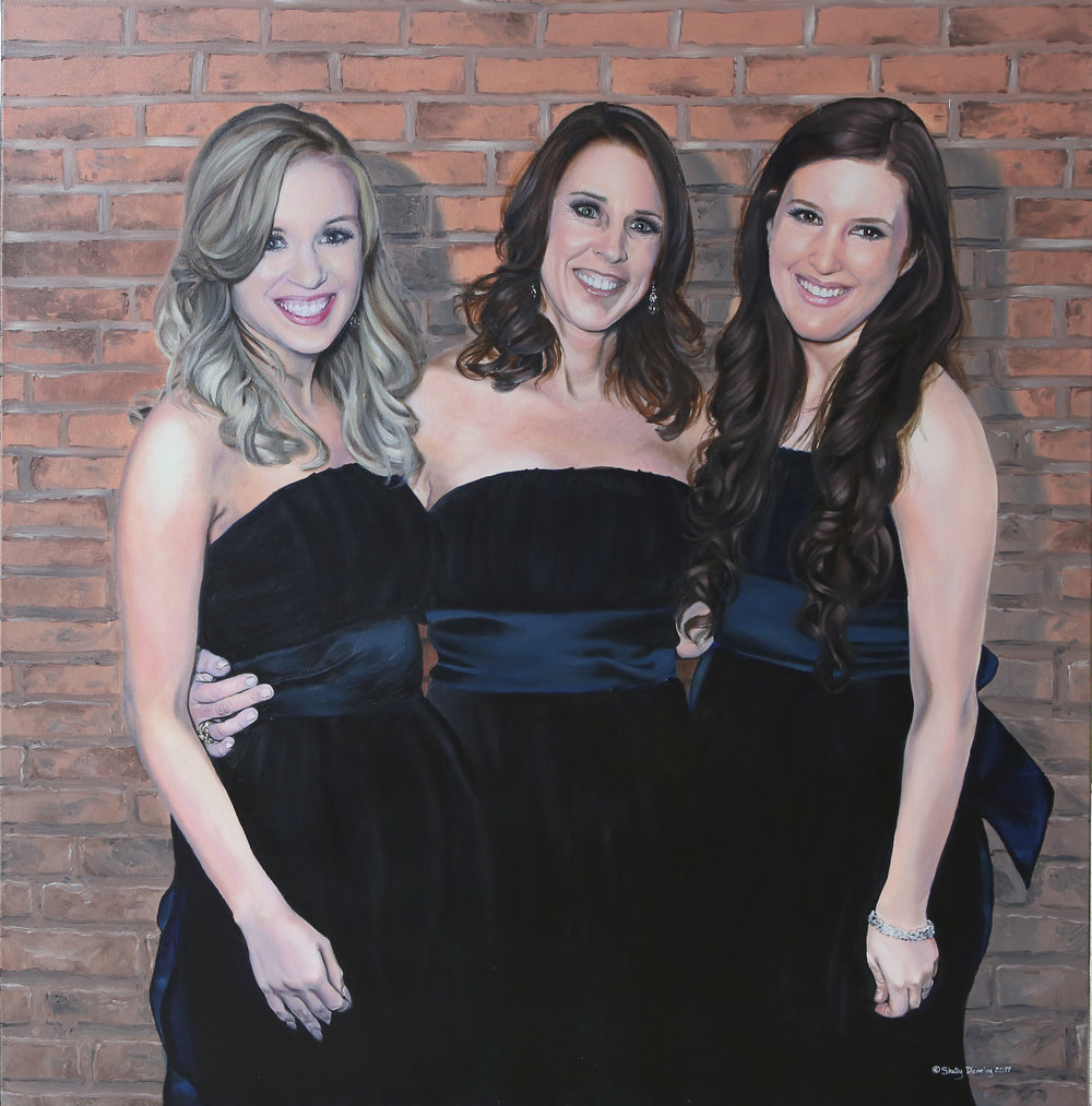Shelly Denning,  Camille and her Girls.