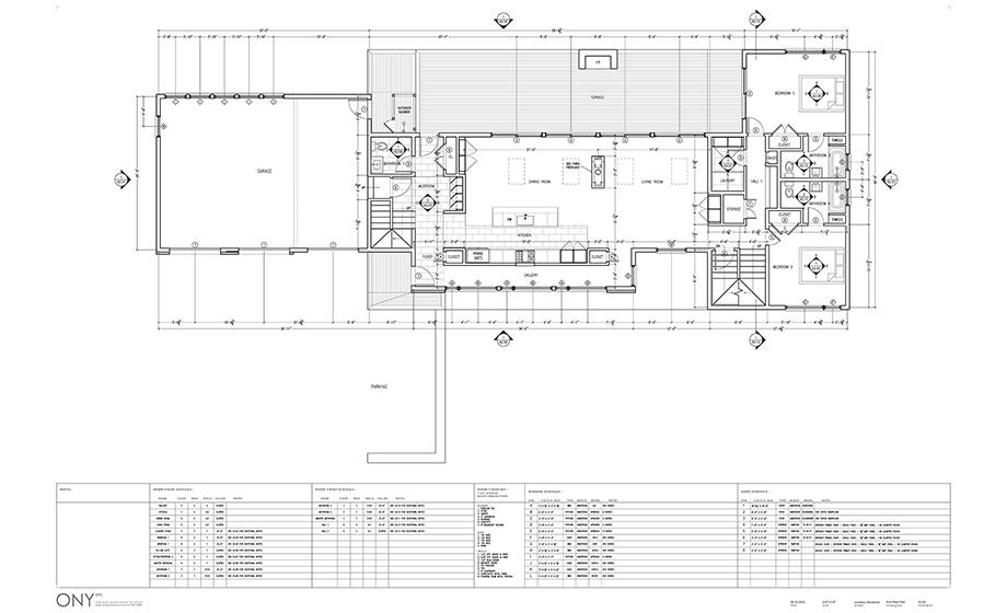 Developed Level 1 Floor Plan