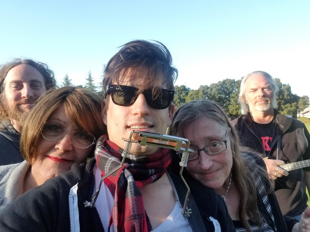 Me and the Irish Rogues, circa 2018.