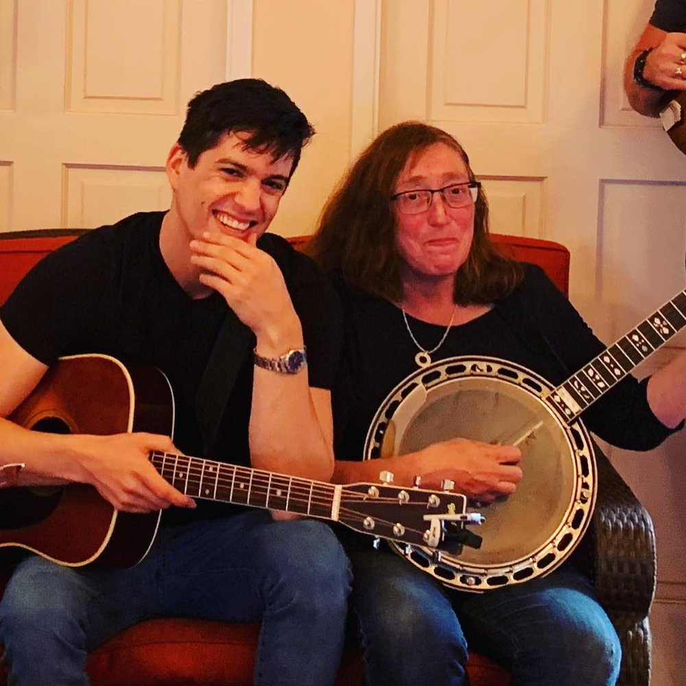 With Autumn Rose Thompson, the banjo gypsy queen.
