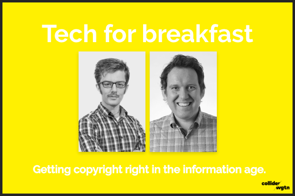 Tech for breakfast    May 22nd, 2018 | Between:                    8.00am - 9:00am   #techweek2018   This is a FREE event!    Find out more here  .