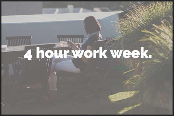 4 hour work week    10th July | BizDojo Tory Street              Time TBA    This is a FREE event!    Find out more here.