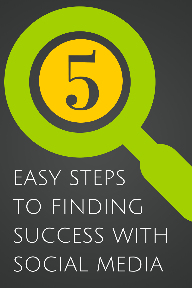 Five Easy Steps to Finding Success with Social Media