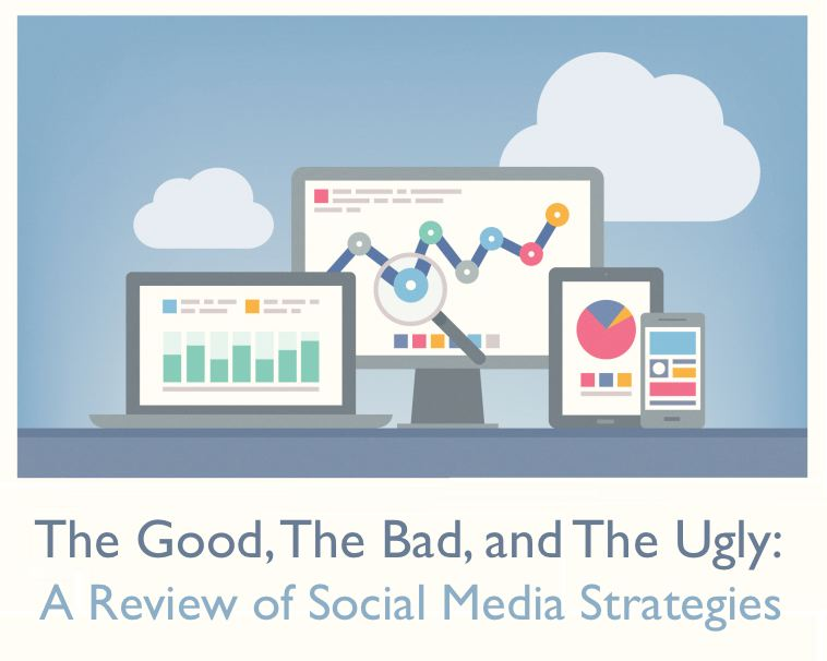 The Good, The Bad, and The Ugly- A Review of Social Media Strategies