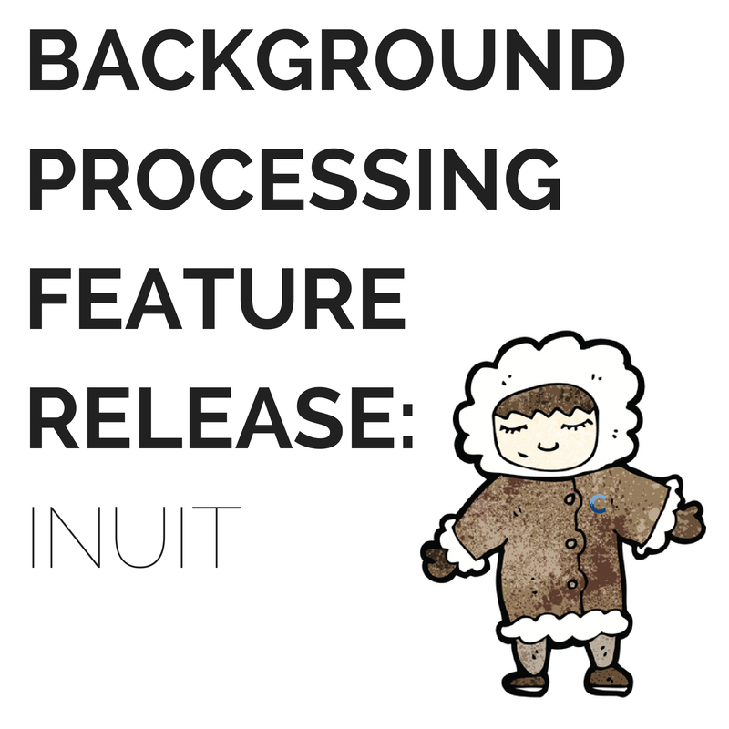 Everything you need to know about SocialCentiv's background processing feature release: Inuit! #localmarketing