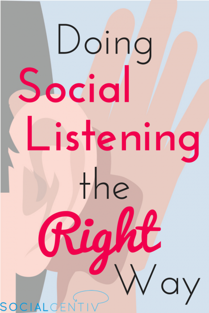Doing Social Listening the Right Way-SocialCentiv