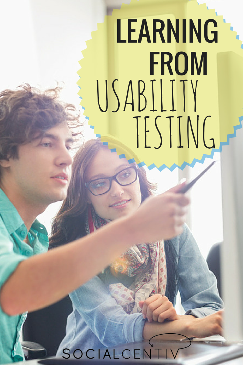 Learning from Usability Testing-SocialCentiv