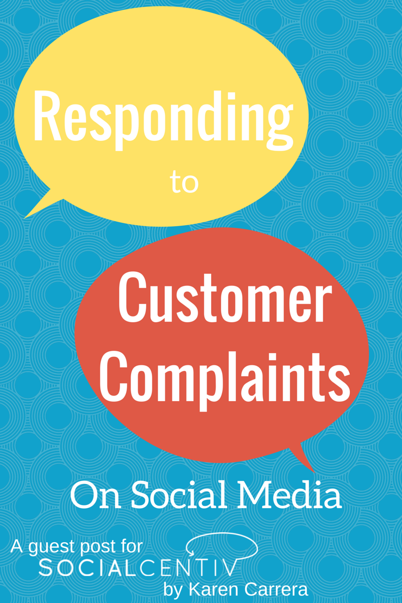 Responding to Customer Complaints on Social Media-SocialCentiv