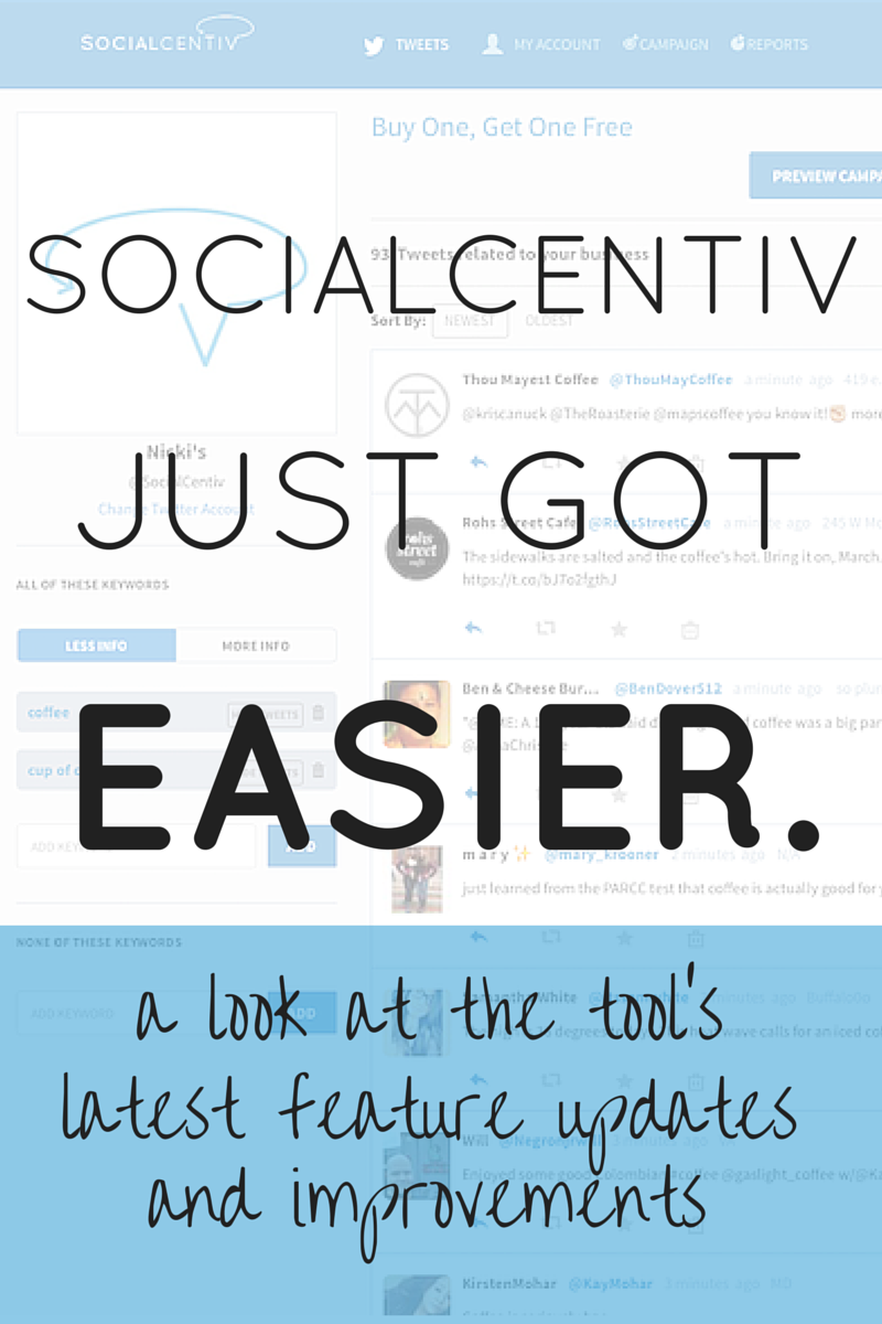 SocialCentiv Just Got Easier