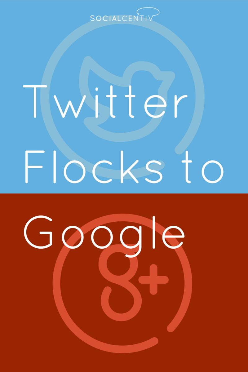 Twitter Flocks to Google
