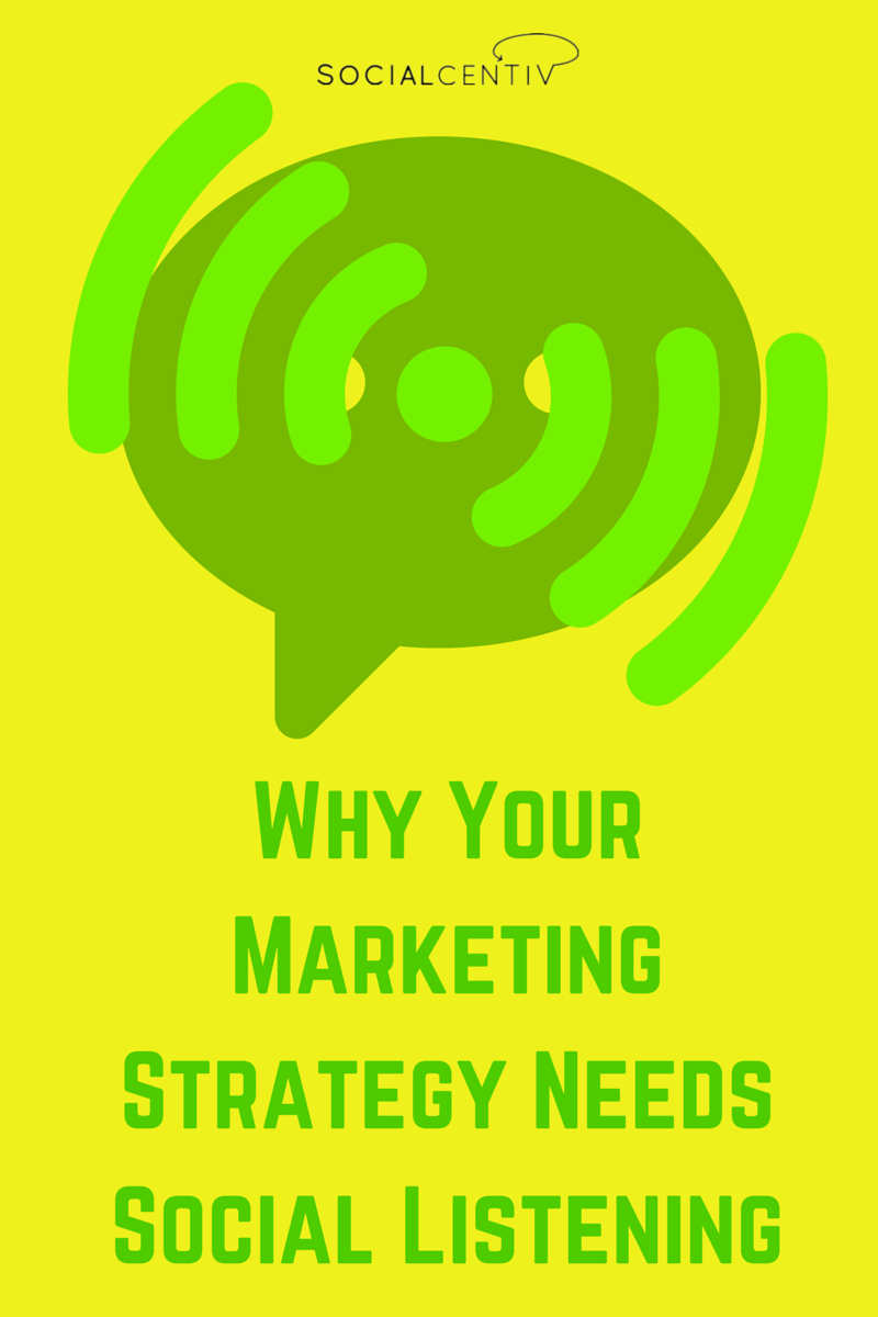 Why Your Marketing Strategy Needs Social Listening - SocialCentiv
