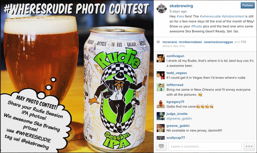 Ska Brewery Photo Contest