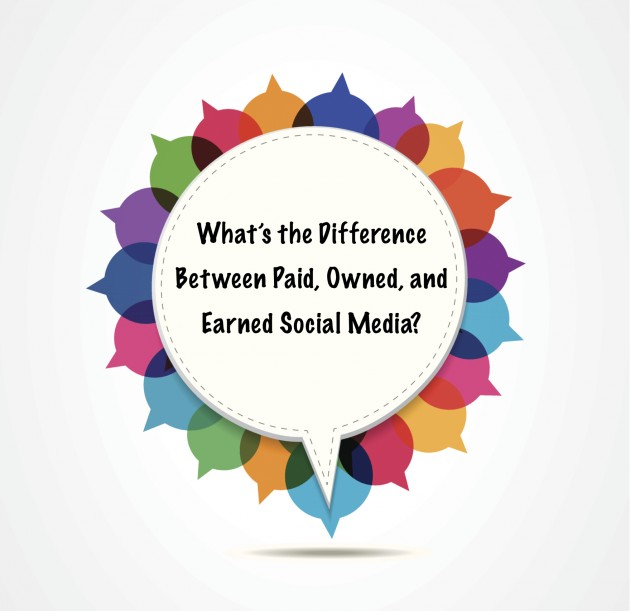 What's the Difference Between Paid, Owned and Earned Social Media?