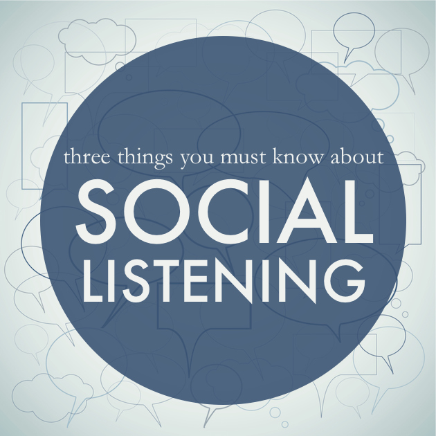 Three Things You Must Know About Social Listening
