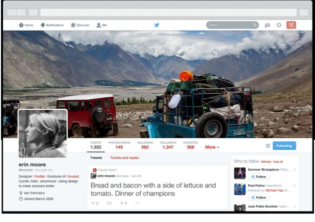 Twitter Update- Pinned Tweet