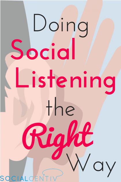 Doing Social Listening the Right Way-SocialCentiv