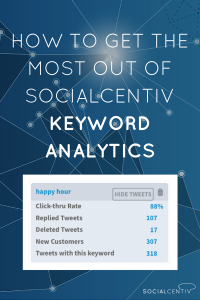 How To Get the Most Out of SocialCentiv Keyword Analytics