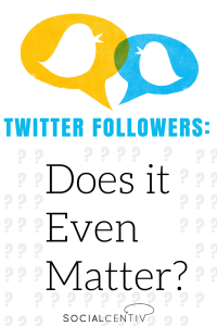 Twitter Followers: Does It Even Matter? - SocialCentiv