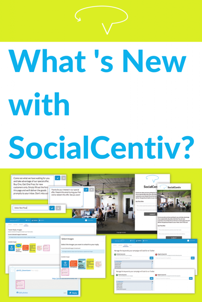 What 's New with SocialCentiv?