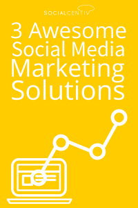 3 Awesome Social Media Marketing Solutions - SocialCentiv